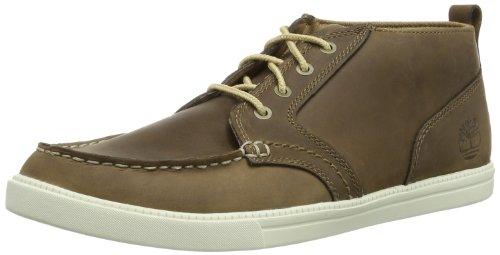 Timberland Herren Newmarket_Fulk LP MT Leather Chukka Boots, Braun (Toasted Coconut Light Brown), 41 EU