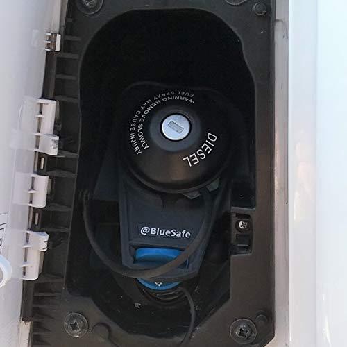 AdBlue Deckel Sicherung Tanksicherung für Tankverschluss Tankdeckel (Typ Fia t Ducato, AdBlueSafe Schwarz)