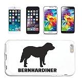Reifen-Markt Funda compatible con Samsung Galaxy S3 Mini Bernhardiner Mozart perro cría perro perro perro funda funda funda Smart Cover