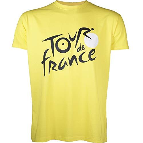 Tour de France T-Shirt - Leader de Cyclisme - Collection Officielle - Taille Adulte Homme M