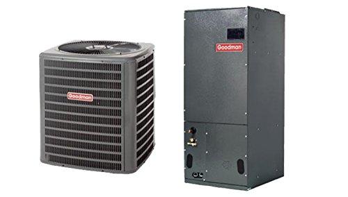 Goodman 2 Ton 14 SEER Heat Pump System with Multi-Position Air Handler GSZ140241/ARUF24B14