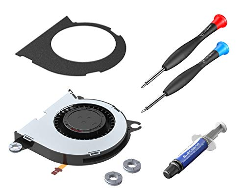 ElecGear Ventilador de Refrigeración Compatible con Nintendo Switch – Interno CPU Cooling Fan, Reemplazo de Enfriamiento, Pasta Térmica, Y00 Triwing y PH00 Destornillador Herramienta de reparación