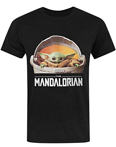 de Manga Corta de los bebés Yoda de Star Wars mandalorianas Camiseta