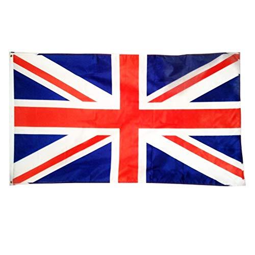 (APOSITV)国旗 世界 特大 150×90 日の丸 アメリカ イギリス イタリア フランス ドイツ ブラジル 韓国 中国 (イギリス)