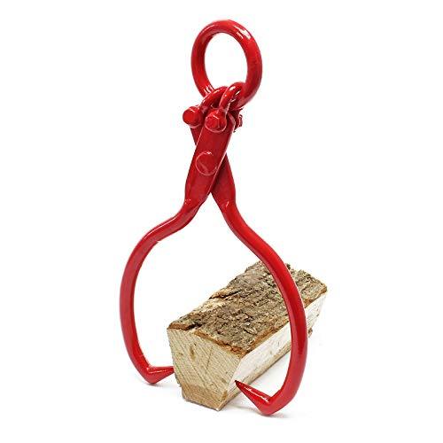 Forstzange für Baumstämme bis Ø30,5cm, Zugkraft 680kg, 2 Klemmdorne, aus Stahl