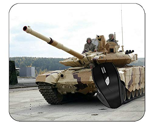 Professional Mousepad T-90 Main Battle Tank Tank Military Weapon Gaming Mouse Pad