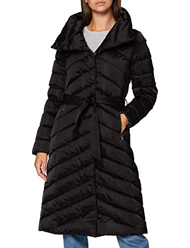 Geox Damen W Chloo Down Coat, Black (BLACK), 44 (50)