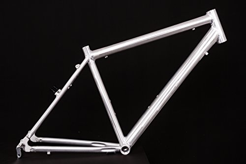 "28"" Zoll Alu Fahrrad Rahmen Herren Trekking City Bike V Brake Ketten Schaltung Rh 50cm roh unlackiert"