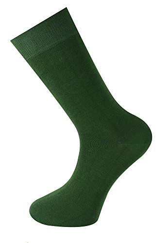 Mysocks Calcetines color liso hombres mujeres pino