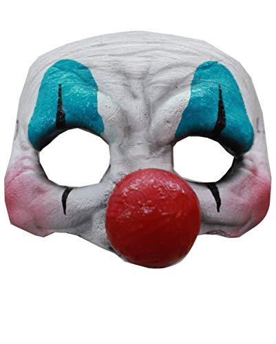 Horror-Shop Böser Clown Augenmaske