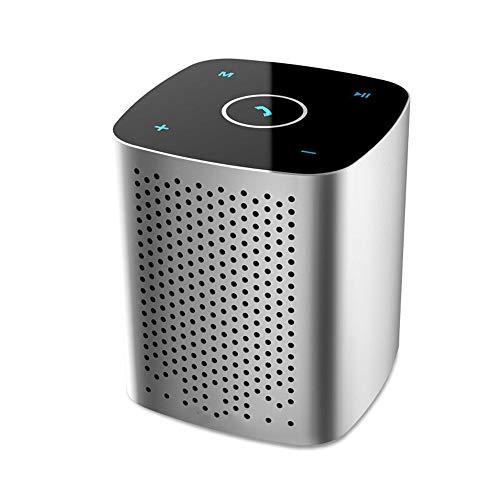 Byx- draadloze Bluetooth-luidspreker - touchscreen-auto-subwoofer met hoog volume mini mobiele telefoon draagbare kaartenluidspreker meerdere optioneel / H61MM, W53MM @