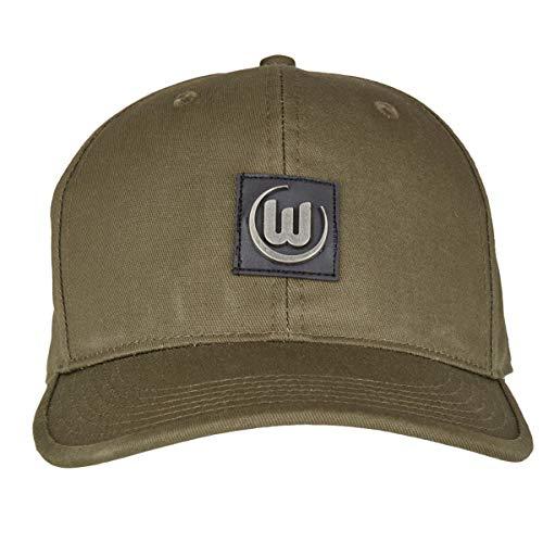 VfL Wolfsburg Basecap Cap olivgrün Metallbadge Unisex one Size