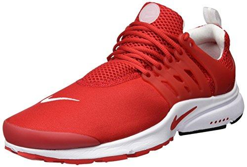 Nike Air Presto Essential, Entrenadores Hombre, Rojo (University Red/University Red/White), 46 EU