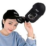APOE Cappellino con Ventilatore, Cappello con Ventilatore a Batteria, 3 velocità Regolabile, 500mAh, Berretto da Baseball con Ventola Ricarica USB per Le Giornate Calde