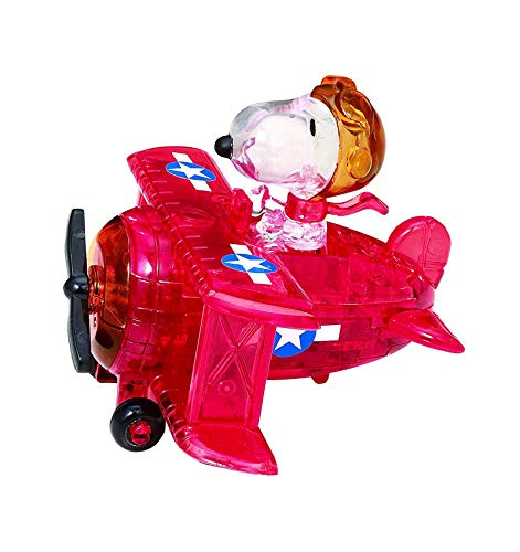 Bepuzzled Rompecabezas 3D Snoopy Volando en avioneta