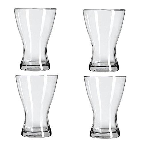 Vasen IKEA Klarglas; (20cm); 4 Stück