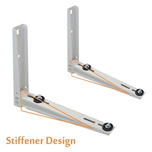 Mini Split Bracket for Ductless Air Conditioner Wall Mounting 7000 - 15000 BTU