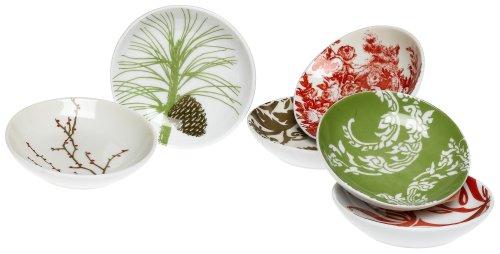 Rosanna Boho Holiday Dipping Dishes, Set of 6