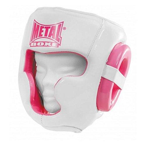 Metal Boxe Casco, color rosa