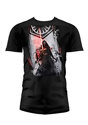 SD toys - T-Shirt - Star Wars Episode 7- Homme First Order Noir Taille S - 8436546898993