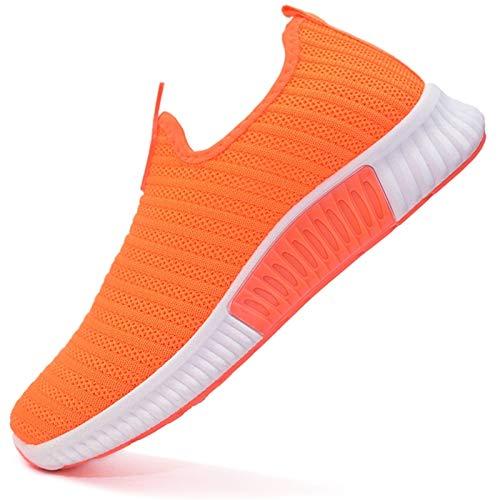 Vain Secrets Damen Sneaker Socken Laufschuhe Sportschuhe Freizeit Schuhe Regenbogenfahne (ORANGE M2, Numeric_40)