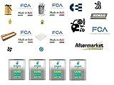 Kit filtri tagliando Grande Punto EVO 1.3 Multijet 66 Kw 90 Hp + 4 Litri Olio Selenia WR 5W40