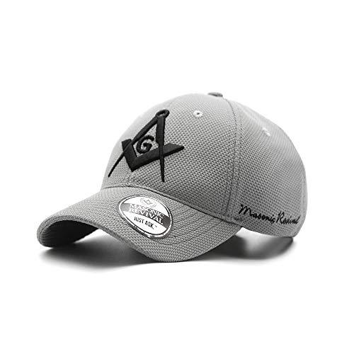 Masonic Revival - Gris Cap (Adjustable Belt) Gray