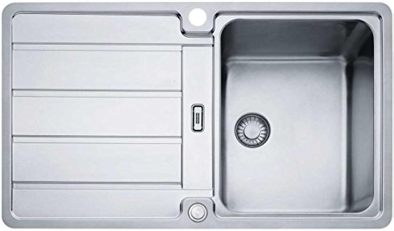 Franke Hydros HDX 214 Edelstahlspüle glatt Küchenspüle Spültisch Flchenbündig
