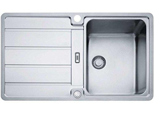 Franke Hydros HDX 214 Edelstahlspüle glatt Küchenspüle Spültisch Flächenbündig