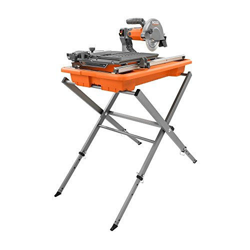 Ridgid R4030s 7″ Tile Saw with Foldable Stand