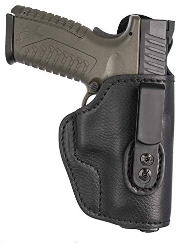 1791 GUNLEATHER Ultra Custom Leather Holster fits Sig P320x, P320c, P229, H&K VP9sk and Similar Frames - IWB CCW Holster - Memory Lock Right Handed Leather Gun Holster