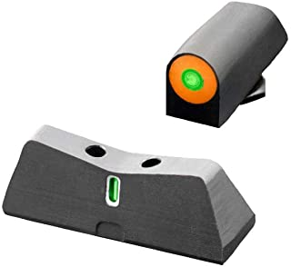 XS Sights New DXT2 Big Dot Night Sight for Glock Pistols, Front and Rear Glow in The Dark Tritium for Tactical Applications