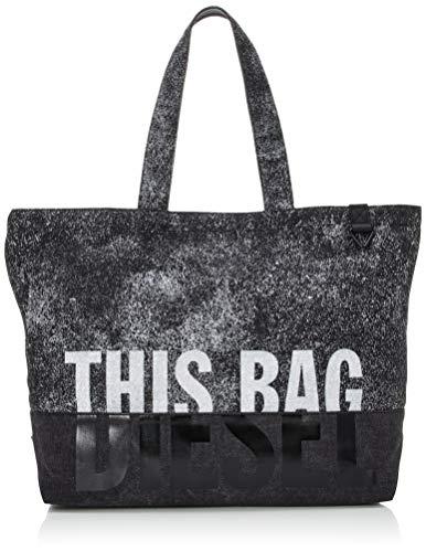 Diesel Herren Thisbagisnotatoy D-thisbag Shop Mb Shopping Bag Umhängetasche, Vulkan/Brilliant White, UNI