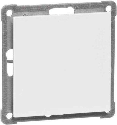 PEHA 00155911 Aura Blindverschluss-Zentralplatte mit Trageplatte für Spreizbefestigung, alu