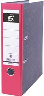 Contenedor de 5 archivadores de palanca folio apilable 8 alturas Unipapel 8412742378439 color Kraft