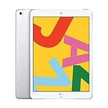 """Apple iPad 10.2"""" (Late 2019) 128GB, WiFi Only - Silver (Renewed)"""