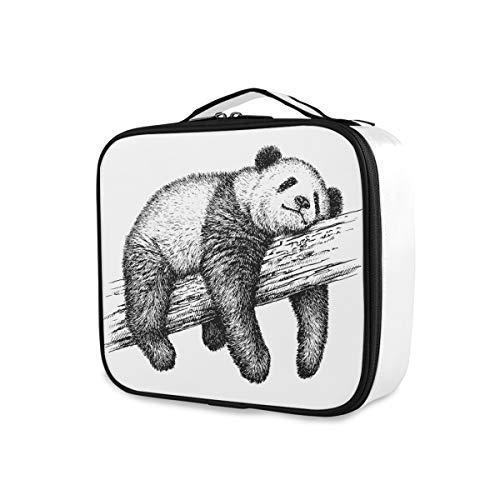 Outils Cosmétique Train Case Mignon Animal Panda Bear Voyage De Stockage Trousse De Toilette Portable Mignon Maquillage Sac