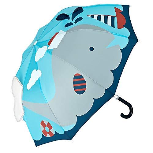 VON LILIENFELD Regenschirm Kinderschirm Wal mit Boot Kids Junge Mädchen Ozean Meer bis ca. 8 Jahre