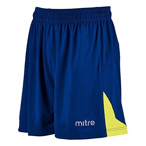 mitre Prism Short d'entraînement Mixte Adulte, Bleu Roi/Blanc, FR (Taille Fabricant : XL)