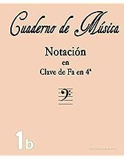 Cuaderno de Música: Notación en Fa (Cuadernos de Musica)