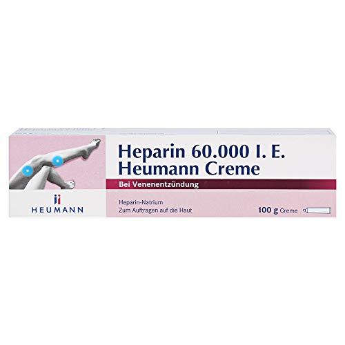 HEPARIN 60.000 Heumann Creme 100 g