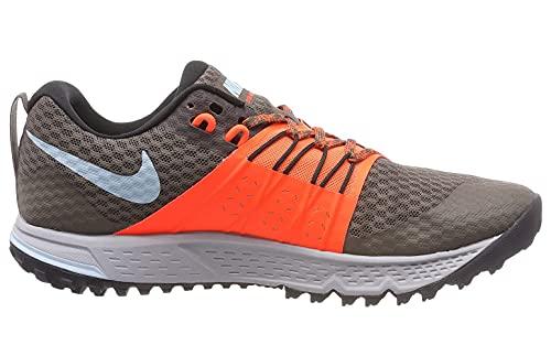 Nike Air Zoom Wildhorse 4 Ridgerock Ocean Bliss Crimson Trail Running Shoes 880565-200 Mens Size 12