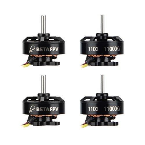 BETAFPV 4pcs 1103 11000KV Brushless Motor FPV RC Brushless Motors for 2S Lipo Battery 2S Frame...