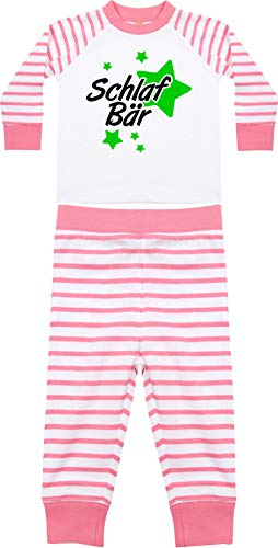 Kleckerliese Pyjama pour enfant avec motif ourson - - 2-3 ans