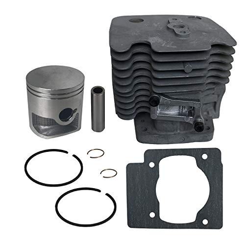 JERDE Zylinder-Set 51 mm für Husqvarna 580BTS 580BFS Rucksack-Laubbläser [#578 38 50-01]