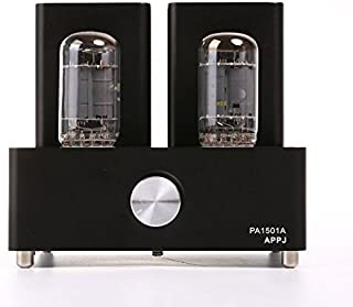Gemtune APPJ PA1501A mini tube amplifier with 6AD10 tube (black)