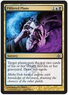 Magic: the Gathering - Pilfered Plans (90) - Dragon's Maze