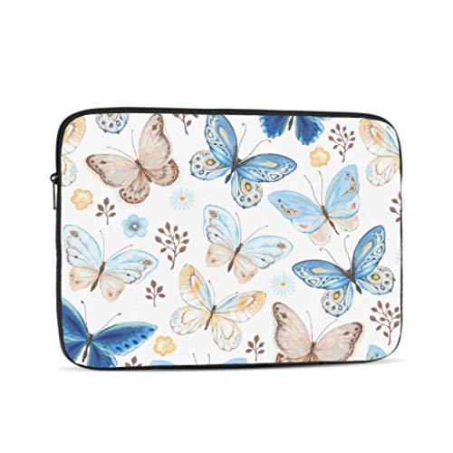 Macbook Air Accessories Colorful Butterfly Insect Laptop 13 Inch Case Multi-Color & Size Choices10/12/13/15/17 Inch Computer Tablet Briefcase Carrying Bag