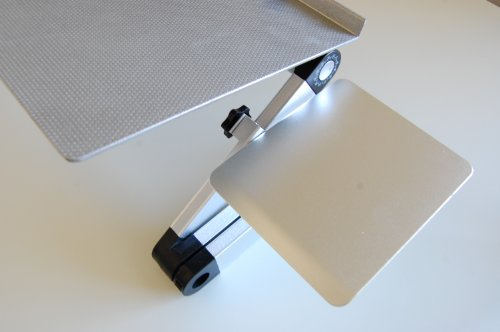 Uncaged Ergonomics WEMPs WorkEZ Mouse Pad for All WorkEZ Laptop Stands, Silver Photo #4