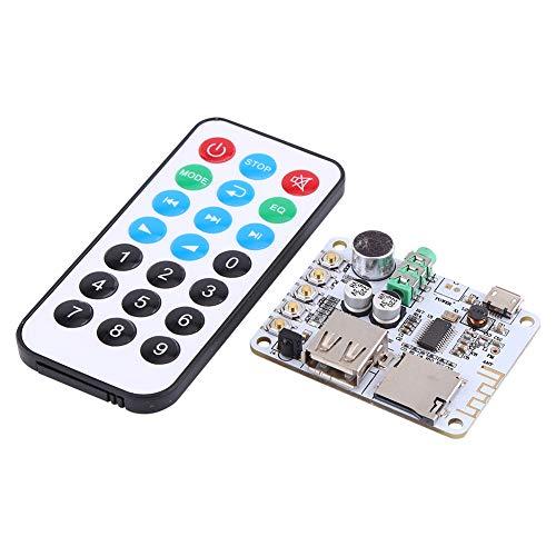 Nuevo receptor de audio Bluetooth Amplificador de micrófono USB TF FM Decodificador...